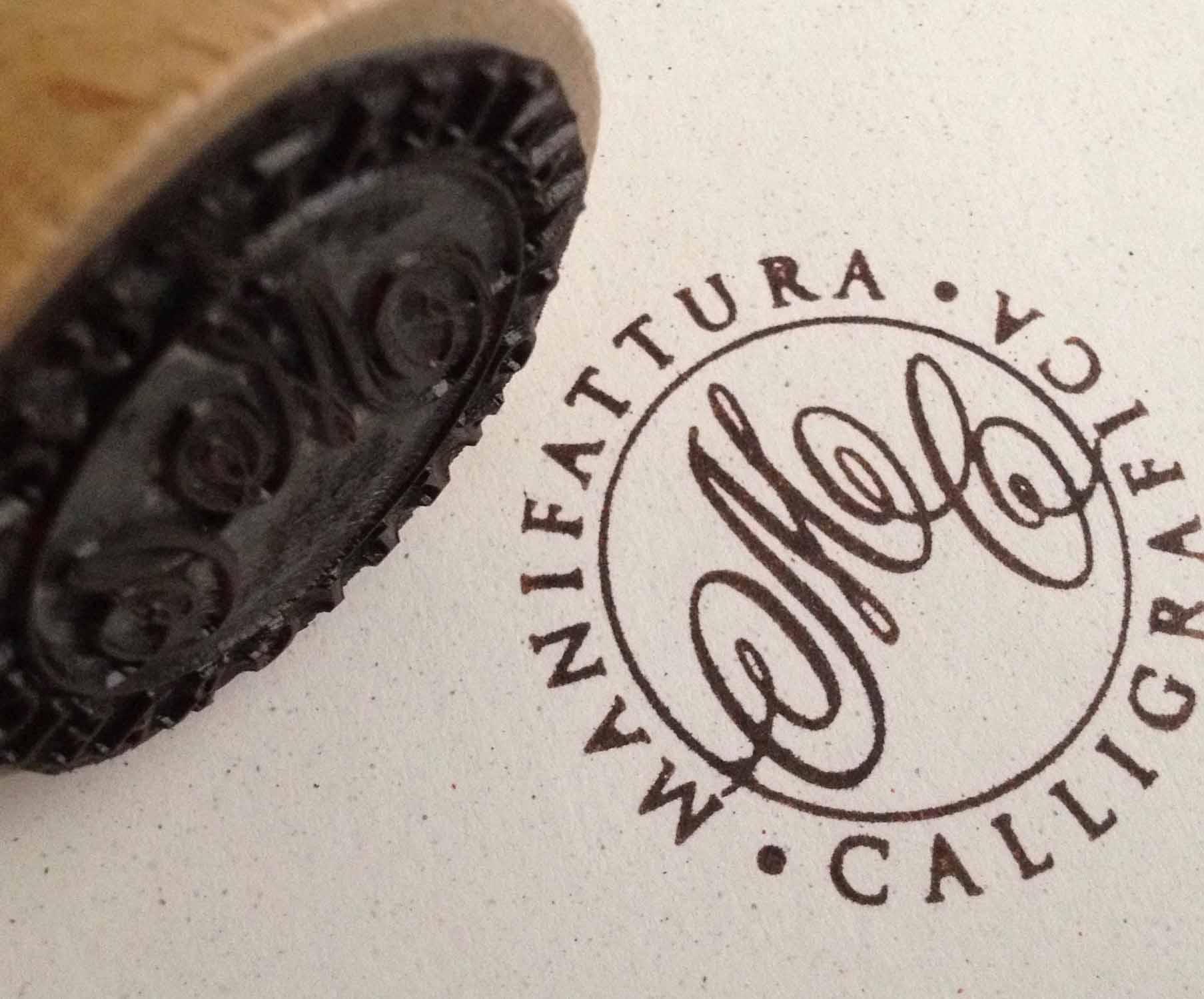 timbro Logo Manifattura Calligrafica